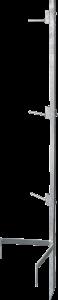Montagepaal Compact voor maximaal 3 haspels