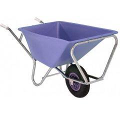 Fort stalkruiwagen, 160 liter, Lavendel paars