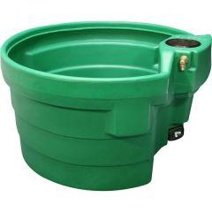 Weidedrinkbak / waterbak groen 400 ltr rond