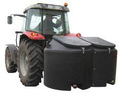 Krachtvoerbak 2000 ltr / 1200 kg met deksel