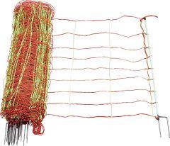 Schrikdraadnet Combi 90 cm, dubbele pu1nt, 50 mtr.