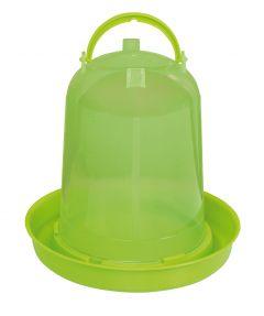 Pluimvee drinktoren 8 liter green lemon