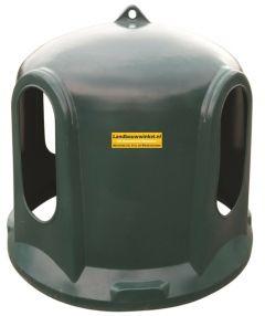 Hooihut / hooistolp voor paarden - kunststoffen weideruif, hooiruif