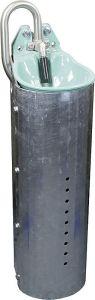 Staalpaal voor Mod. 25Rhoogte 80cm, verzinkt