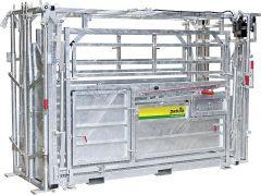 Behandelbox A8000met zijkant versmalling, schuifhekken