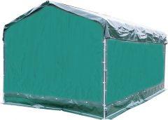Weerbeschermingszeil voor paneeldakgevelkant