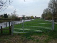 Landhek voor schapen 4 mtr + wandelpoort