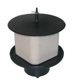 Liksteenhouder voor op Paal KS voor 10 kg