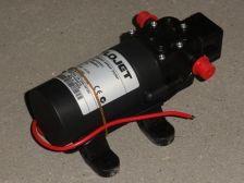 Elektrische spuitpomp 12 Volt - 4 ltr/min