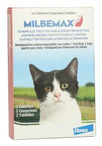 Milbemax Tabletten Kitten/Kat Klein R 2 tabl. 0,5-2kg