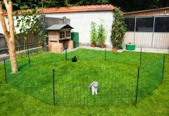 Net afrast konijn 65 cm, enkelpunt 12 m.
