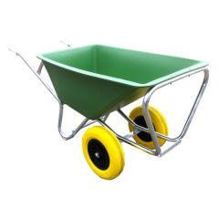 Tweewielige kruiwagen, 160 liter met ANTI-LEK banden