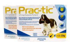 Prac-Tic 275 mg Teek&Vlo (11-22 kg) 3 pipet