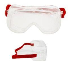 Ruimzichtbril 3M 4800 helder polycarbonaat (anti-kras)