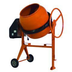 Betonmolen 150 liter, met voetrem