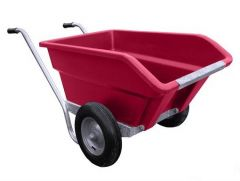 Tweewielige kantelbare roze kruiwagen 255 ltr. - JFC TWB 250 pink