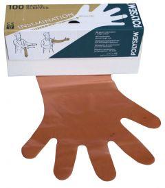 Wegwerphandschoenen Vet Oranje